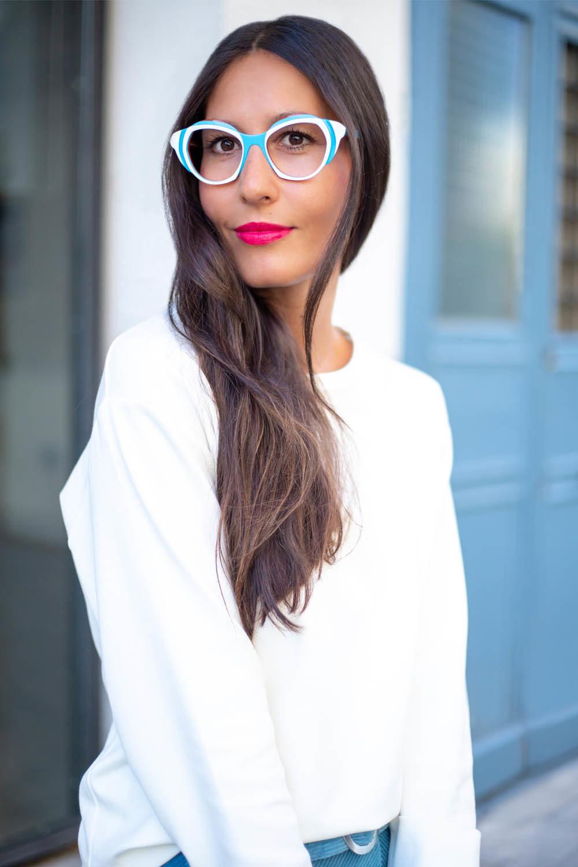 le plus populaire lisse Design moderne Plein les mirettes-lunettes montures design françaises Elbeuf